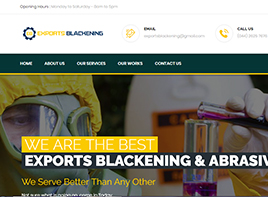 Exports Blackening