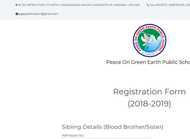 Peace On Green Earth School